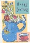 Happy Birthday-Flowers - Good Books