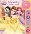 Play-a-Sound: Disney Princess, Ring-a-Ling! A Friend Is Here (Disney Princess, Play-a-Sound) - By the Editors of Publications International, Ltd., Publications International Ltd.