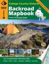 Backroad Mapbook: Cottage Country Ontario, Fourth Edition - Wesley Mussio, Russell Mussio