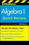 CliffsNotes Algebra I Quick Review (Cliffs Quick Review) - Jerry Bobrow