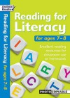 Reading For Literacy For Ages 7 8: Excellent Reading Resources For Classroom Use Or Homework (Reading For Literacy) - Andrew Brodie, Judy Richardson