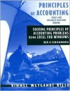 Principles of Accounting: Excel Workbook and Templates - Paul D. Kimmel