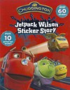 Jetpack Wilson Sticker Stories [With Punch-Out(s)] - Parragon Books