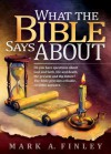 What The Bible Says About - Mark Finley