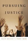 Pursuing Justice - Ralph A. Weisheit