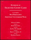 Handbook of Selected Court Cases to Accompany West/Wadsworth's American Government Texts - Edward Sidlow, Steffen W. Schmidt, Beth Henschen