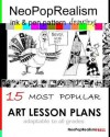 Neopoprealism Ink & Pen Pattern Drawing: 15 Most Popular Art Lesson Plans Adaptable to All Grades - NeoPopRealism Press, Nadia Russ