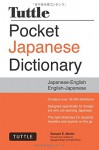 Tuttle Pocket Japanese Dictionary: Completely Revised and Updated Second Edition - Samuel E. Martin, Sayaka Khan, Fred Perry
