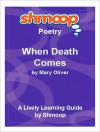 When Death Comes: Shmoop Poetry Guide - Shmoop