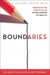Boundaries: When to Say Yes, How to Say No to Take Control of Your Life - John Townsend, Henry Cloud