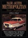Nash-Austin Metropolitan 1954-1962 Gold Portfolio - R.M. Clarke