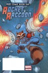 Rocket Racoon (Free Comic Book Day) - Joe Caramagna, Adam Archer, Ty Templeton, John Rauch, Pete Pantazis, Virtual Calligraphy, Clayton Cowles, Skottie Young