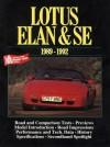 Lotus Elan & SE 1989-92 - R.M. Clarke