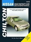 Nissan 350Z & Infiniti G35 2003-08 Repair Manual - Jay Storer
