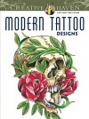 Creative Haven Modern Tattoo Designs Coloring Book (Creative Haven Coloring Books) - Erik Siuda, Creative Haven