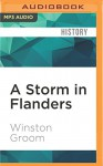 A Storm in Flanders: The Ypres Salient, 1914-1918: Tragedy and Triumph on the Western Front - Winston Groom, David Baker