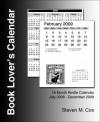 2009 Book Lover's Calendar - Steven M. Cox