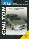Chilton's Kia Optima 2001-10 Repair Manual - Mike Stubblefield