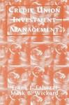 Credit Union Investment Management - Frank J. Fabozzi
