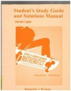 Student Study Guide and Solutions Manual for Using and Understanding Mathematics (Pearson Custom Mathematics) - Jeffrey O. Bennett, William L. Briggs