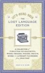 Let's Bring Back: The Lost Language Edition: A Compendium of Forgotten-Yet-Delightful Words, Phrases, Praises, Insults, Idioms, and Literary Flourishes from Eras Past - Lesley M.M. Blume