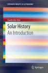 Solar History: An Introduction - Claudio Vita-Finzi