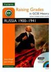 Russia, 1900 1941 (Raising Grades In Gcse History) - Steve Waugh, John Wright
