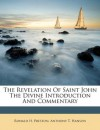 The Revelation Of Saint John The Divine Introduction And Commentary - Ronald H. Preston, Anthony T. Hanson
