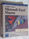 Complete Guide to Microsoft Excel Macros - Chris Kinata