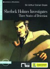Sherlock Holmes Investigates - Buch mit Audio-CD (Black Cat Reading & Training - Step 3) - Arthur Conan Doyle