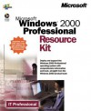 Windows 2000 Professional Resource Kit (It-Resource Kit) - Microsoft Press, Microsoft Press