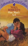 One Man's Art (Silhouette Special Edition #259) - Nora Roberts