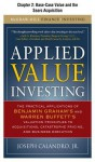 Applied Value Investing, Chapter - - 2 Base-Case Value and the Sears Acquisition - Joseph Calandro Jr.