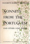 SONNETS FROM THE PORTUGESE AND OTHER LOVE POEMS - Elizabeth Browning, Adolf Hallman