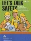 Let's Talk Safety: 52 Talks on Common Utility Safety Practices for Water Professionals - American Water Works Association