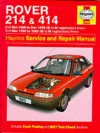 Rover 214 And 414 (89 96) Service And Repair Manual - Mark Coombs, Christopher Rogers