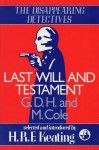 Last Will and Testament - G.D.H. Cole, Margaret Cole