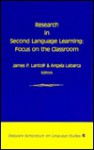 Research in Second Language Learning (Delaware Symposia on Language Studies) - James P. Lantolf, Angela Labarca