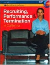 Recruiting, Performance &Amp; Termination In California - Unknown Author 25