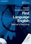 Cambridge Igcse First Language English Teacher's Resource Book [With CDROM] - Marian Cox
