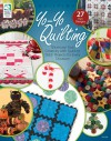 Yo-Yo Quilting: Showcase Your Creativity with Quick to Stitch Projects for Every Occasion - Jeanne Stauffer, Elisa Albury, Elisa Sims Albury