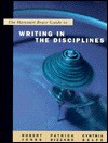The Harcourt Brace Guide to Writing in the Disciplines - Robert W. Jones, Cynthia L. Selfe, Patrick Bizzaro