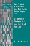 Advances in Mathematical and Statistical Modeling - N. Balakrishnan