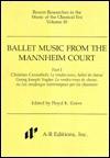 Ballet Music from the Mannheim Court - Paul E. Corneilson, Floyd K. Grave, Georg J. Vogler, Christian Cannabich, Georg Joseph Vogler