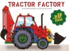 Tractor Factory: A Pop-up Book - Elinor Bagenal, Steve Augarde