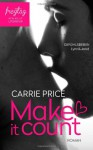 Make it count - Gefühlsbeben - Carrie Price