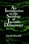 An Introduction to the Sociology of Juvenile Delinquency - David Musick, State University of New York Press