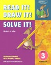 21951 Read It! Draw It! Solve It!: Grade 3 Workbook - Elizabeth D. Miller