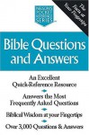 Bible Questions and Answers: Nelson's Pocket Reference Series - Thomas Nelson Publishers