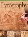 The Art & Craft of Pyrography: Drawing with Fire on Leather, Gourds, Cloth, Paper, and Wood - Lora S. Irish